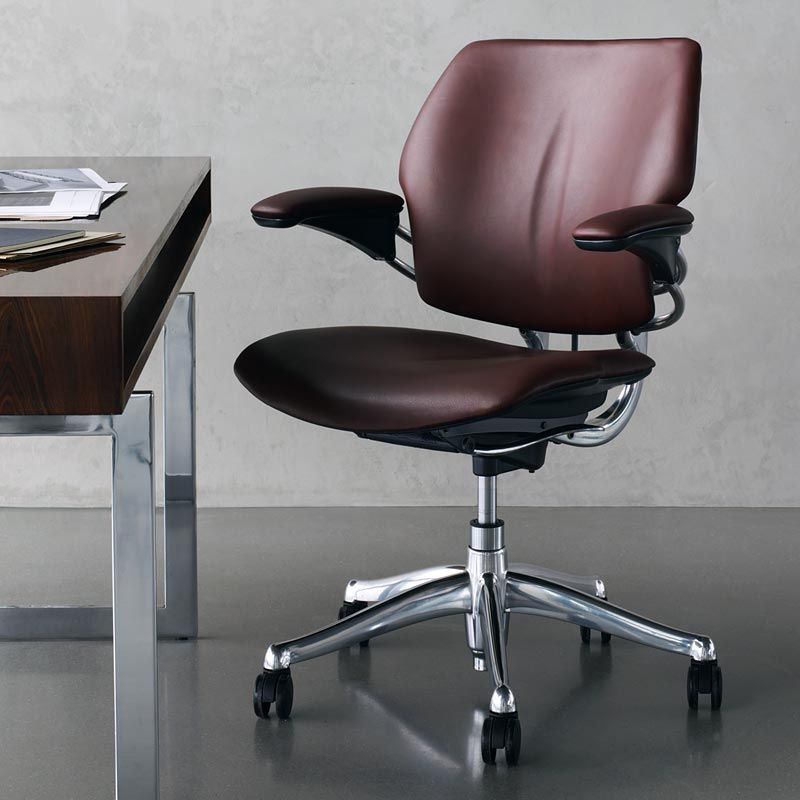Humanscale Freedom Chair Leather Dining Chairs Executive Office Chairs Furniture Site