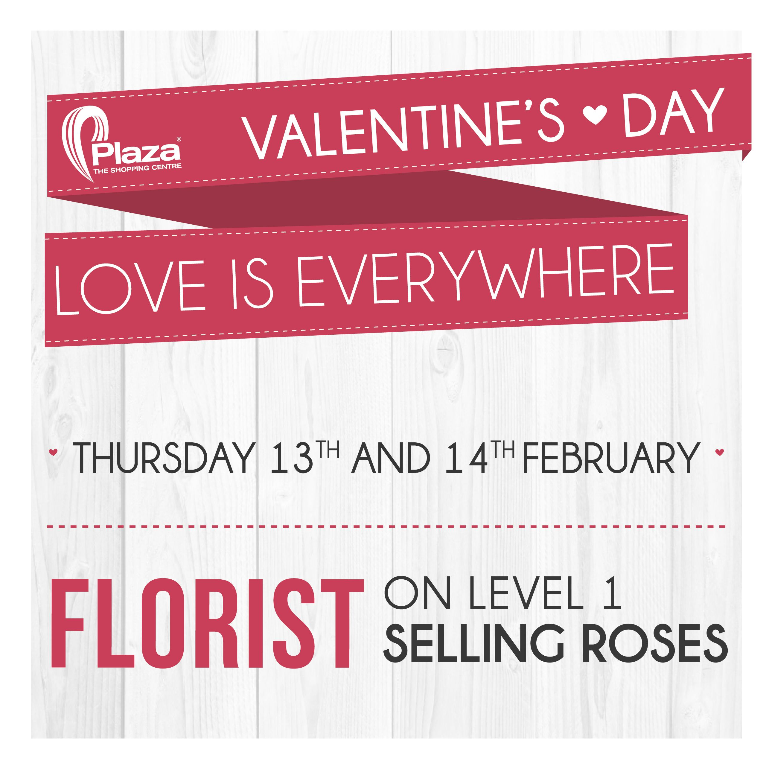 Valentine's Day Events, Prices, Shopping at The Plaza Shopping Centre Sliema