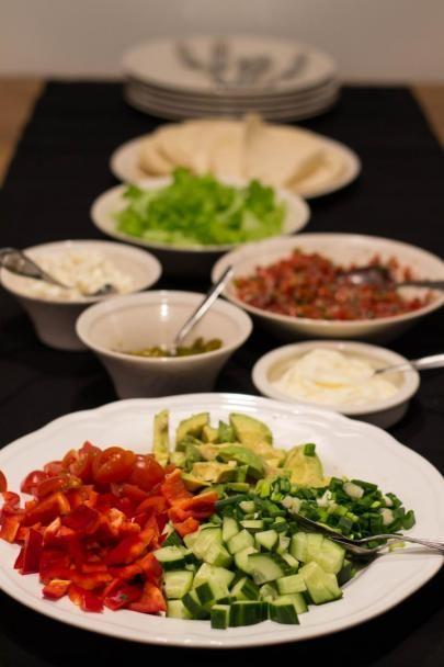 Lapsiperheessä parhaita ruokia ovat sellaiset, joissa jokainen lapsi pystyy itse päättämään haluamansa täytteet.