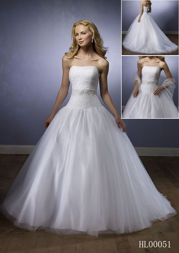 Hl00051 Tulle Wedding Gown With Ruched Bodice Silver Accents Sprinkled On The Entire Dress Natural Waistband Is Shiny And Divides Dropped Waist