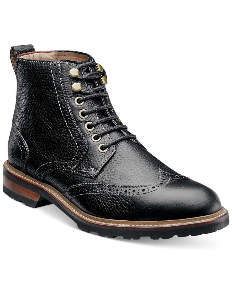 Florsheim Kilbourn Wingtip Boots - they sell these where I work and i am  trying so