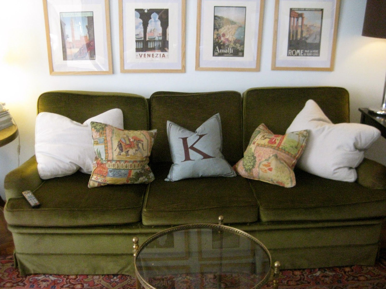 Fancy Green Leather Couch Decorating Ideas 81 In with Green