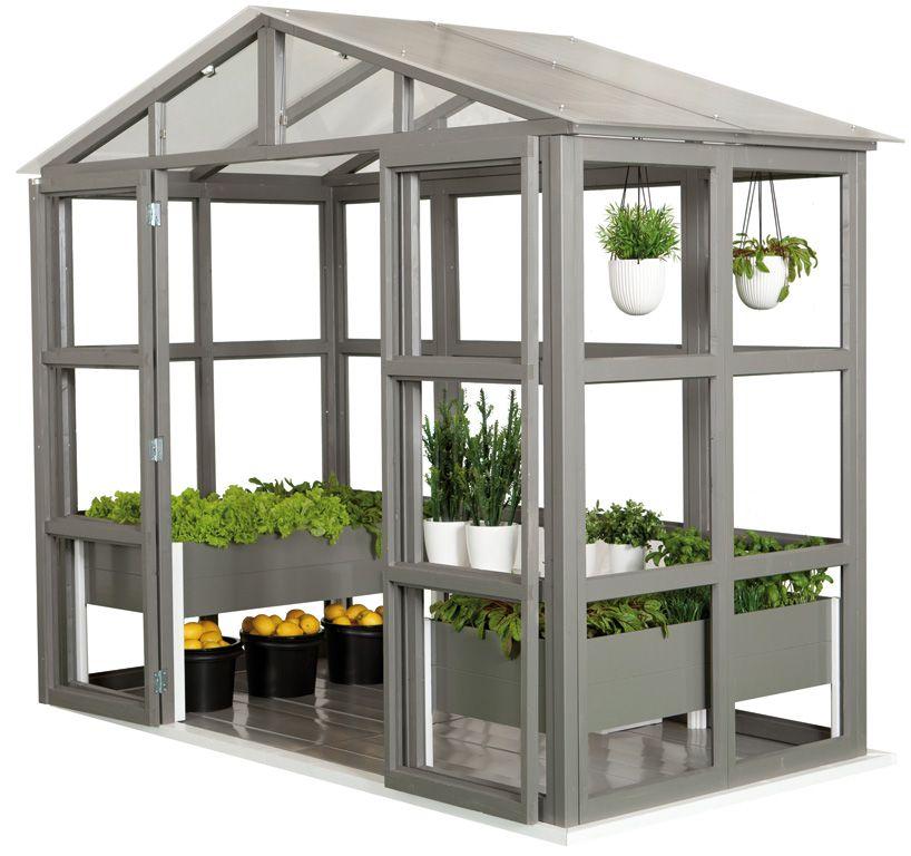 Viherhuone Garden Villa 3,3m2 | Kasvihuoneet | Agrimarket