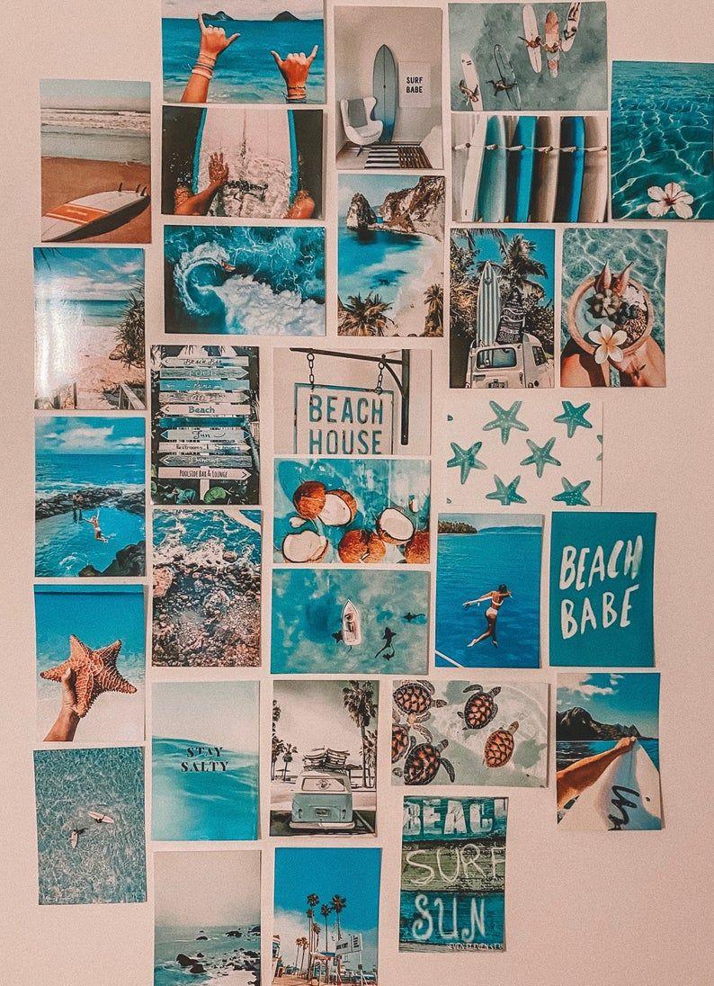 Surf/Beach Collage Kit