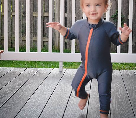 06f736f98b2d4 SwimZip Full Body Rash Guard   Sunsuit keeps kids sun safe all day! Cute  and super thin so it doesn t get hot.