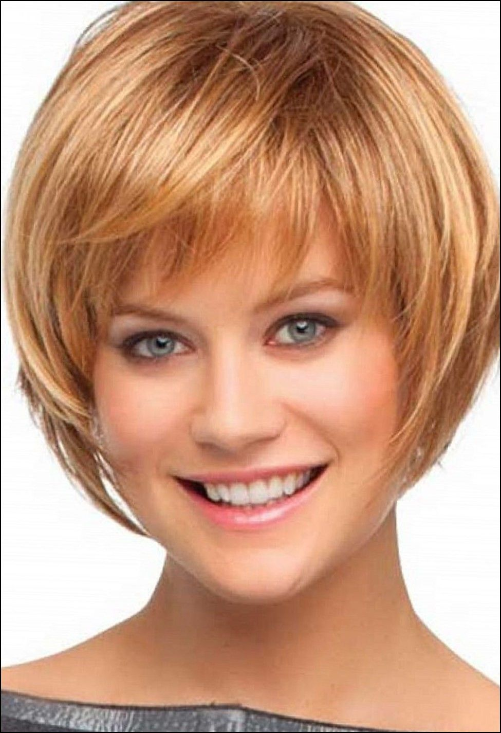 Short haircut with bangs and layers hair cuts pinterest short