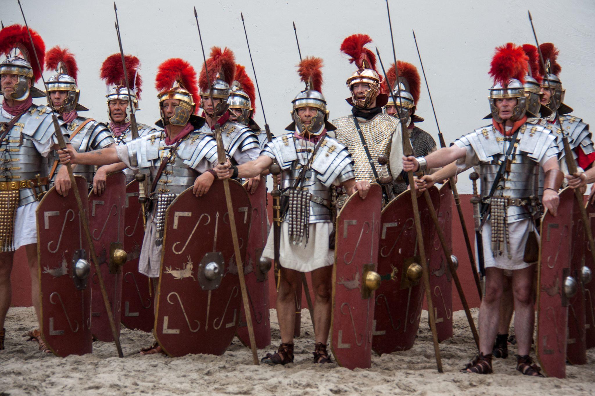 https://flic.kr/p/cQKvao | Roman Legionnaires