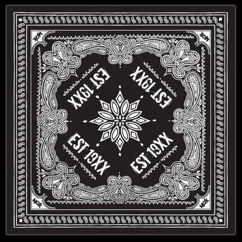 EST 19XX MGK Black Bandana – Machine Gun Kelly Shop | Shop ...