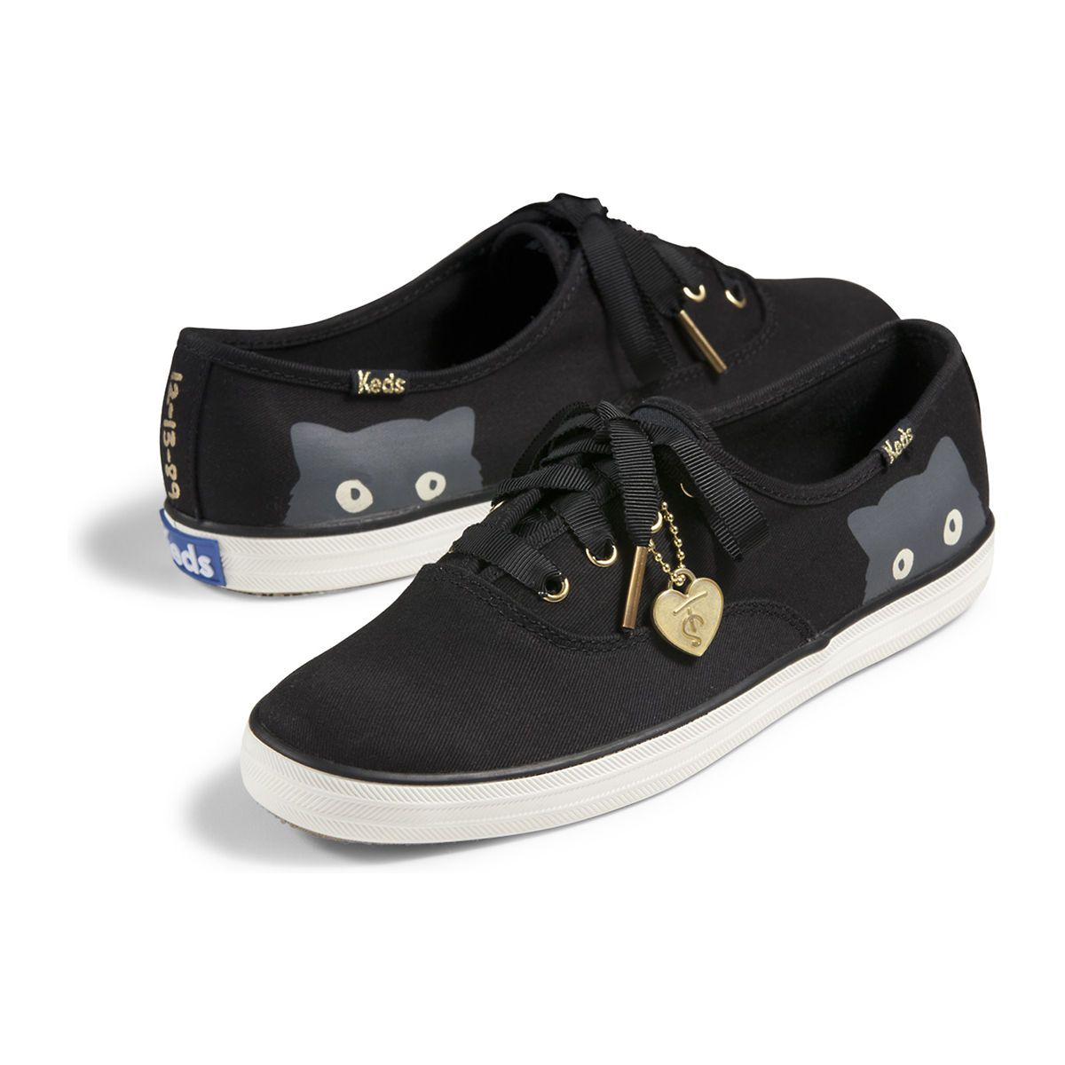 keds shoes for women black and white