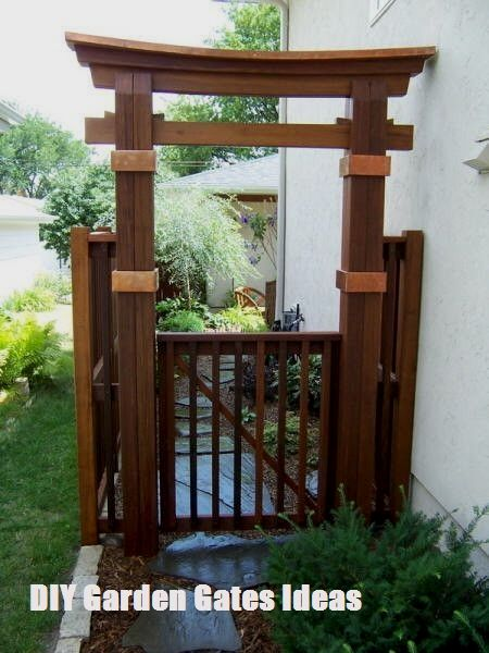 TOP 10 DIY Garden Gates Ideas #japanesegardendesign