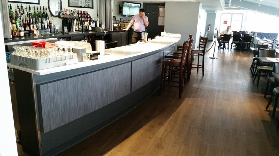 The Terlin Millwork division worked closely with Jordash Equipment in #Ottawa to construct the cabinets for the buffet and bar, as part of a recent renovation at Rideau Carleton Raceway.