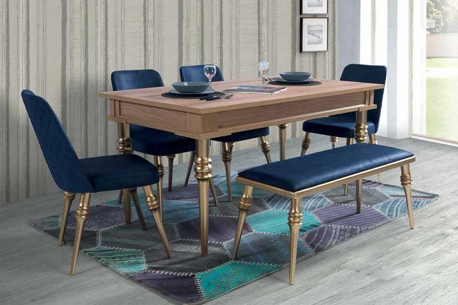 evmo riga salon masa sandalye takimi mese mobilya masa sandalye