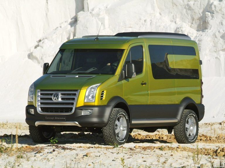 VW Crafter Atacama Is A 4WD Land Ship of Your Dreams Vw