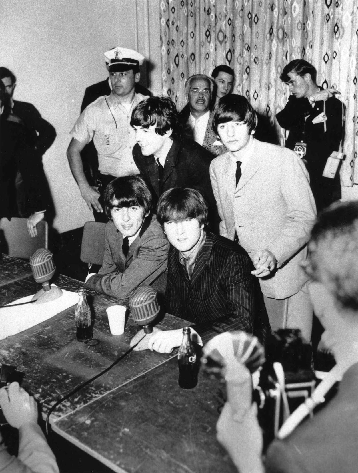August 1964 The Beatles Hold A Giant Sub From The White House Sub Shop During Their Stay In Atlantic City For A Concert Press Of Atlantic City File Photo His