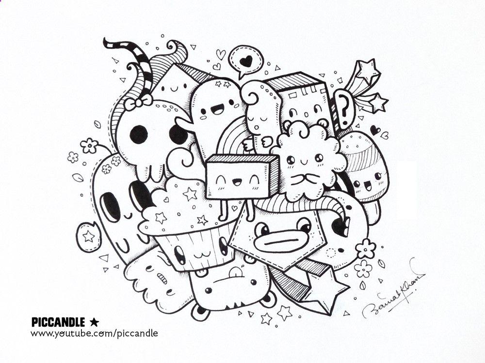 Afficher limage dorigine Doodle characters, Cute doodles