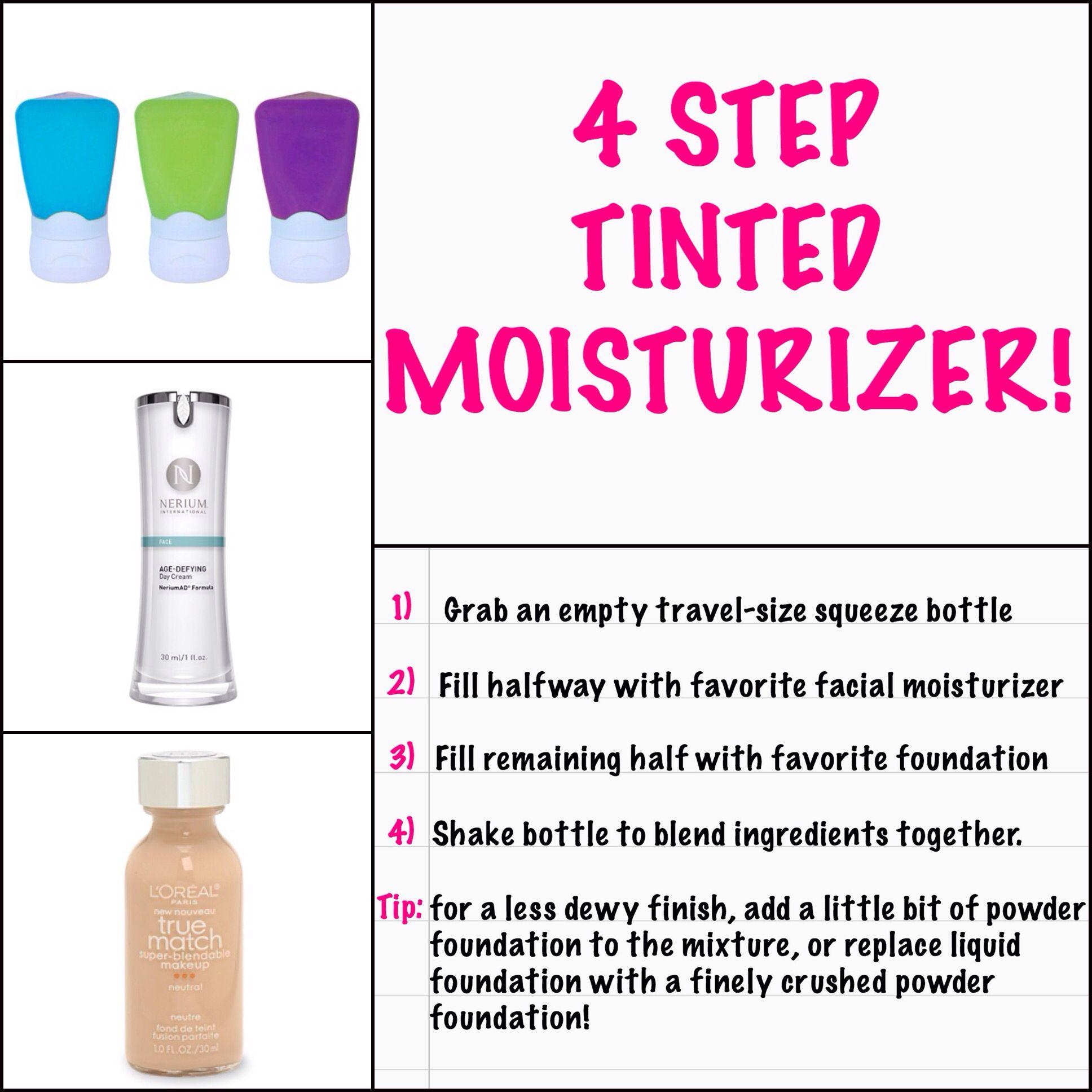 Make Your Own Tinted Moisturizer Tinted Moisturizer