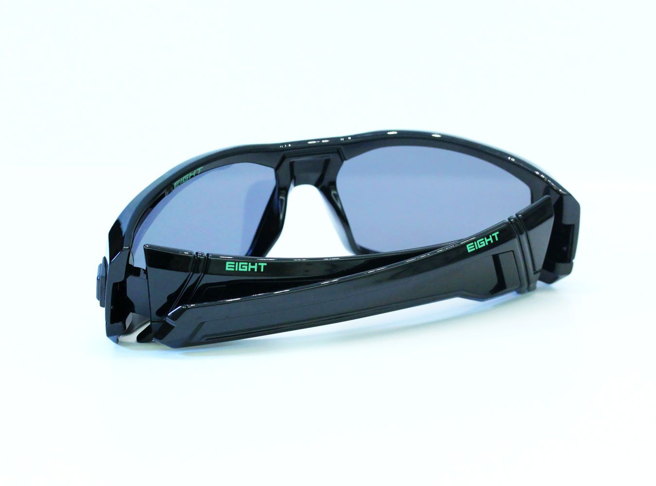 7660d43e3b Glossy Black Green V.1 from EIGHT Eyewear WWW.IWEAR8.COM  8eyewear   sunglasses  shades  cool  mensfashion  fashion  style  summer  eight  sports   design