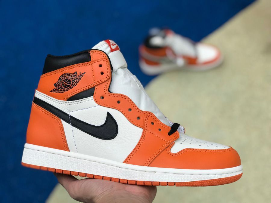 2016 Air Jordan 1 Retro Reverse Shattered Backboard Sail Black