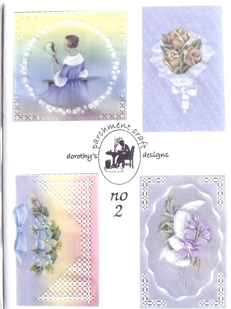 PATTERN PACK 2 BY DOROTHY HOLNESS  Pattern pack 2 four fabulous patterns for you to make for all occasions.