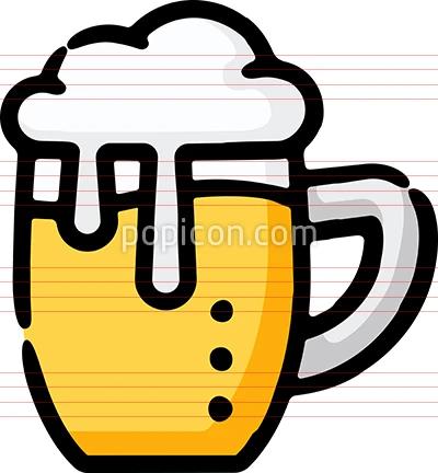 Beer Mug Brewpub Doodle Sketch Icon In 2020 Brew Pub Beer Mug Beer