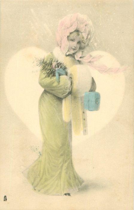1903 Christmas Postcard