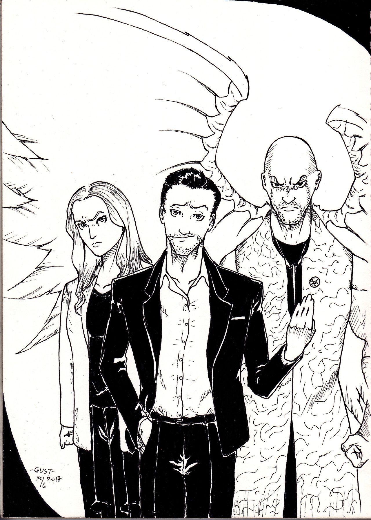Lucifer on FOX  Lucifer, Tom ellis lucifer, Lucifer morningstar