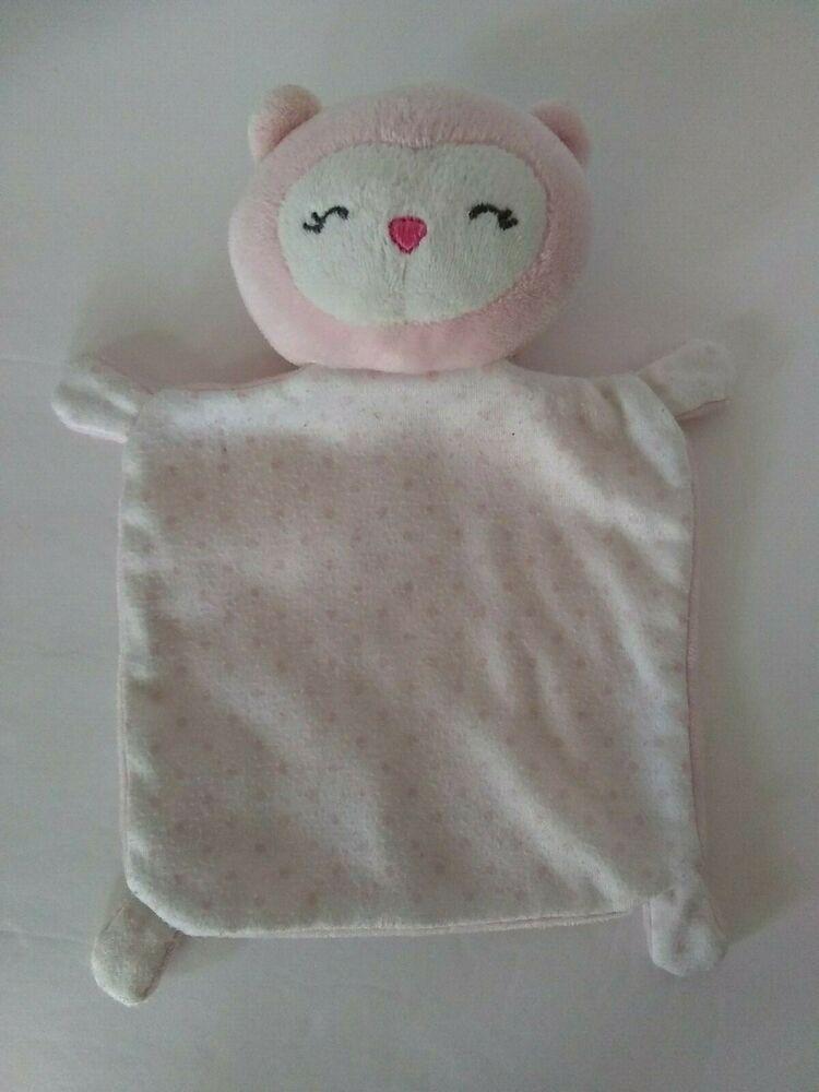 Lamb or Girraffe Blankie Security Lovely Blanket /& Rattle NWT Dan Dee Elephant