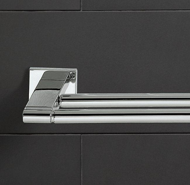 modern double towel bar. Modern Double Towel Bar M