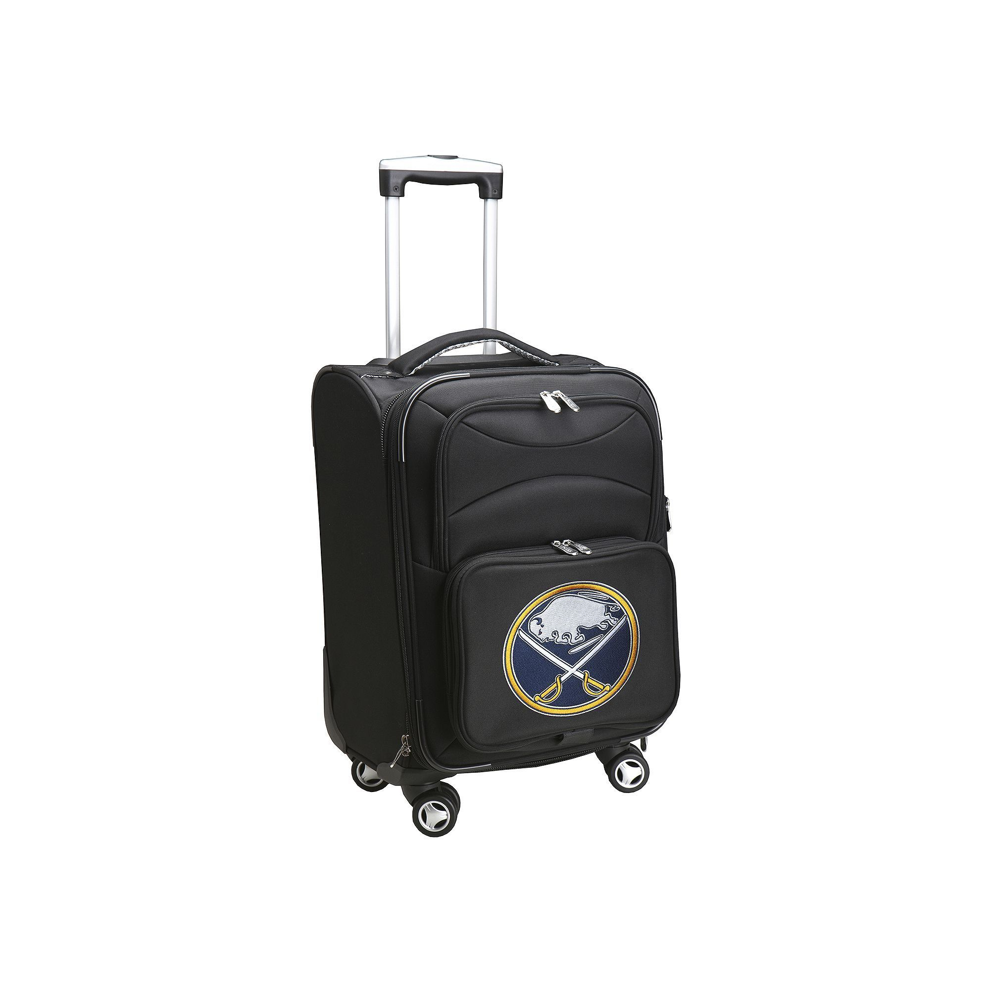 Buffalo Sabres 20-in. Expandable Spinner Carry-On, Black