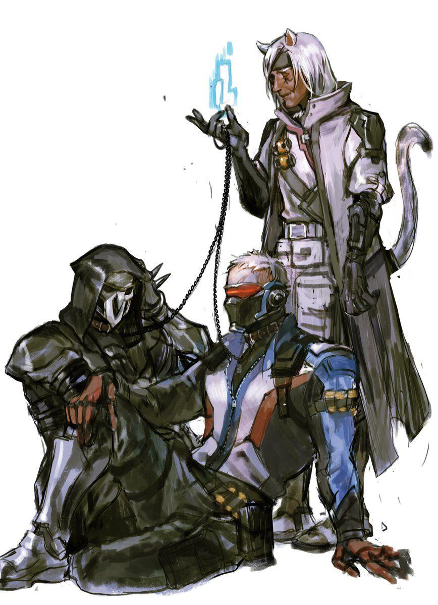 Mühe on Overwatch wallpapers, Overwatch reaper, Overwatch