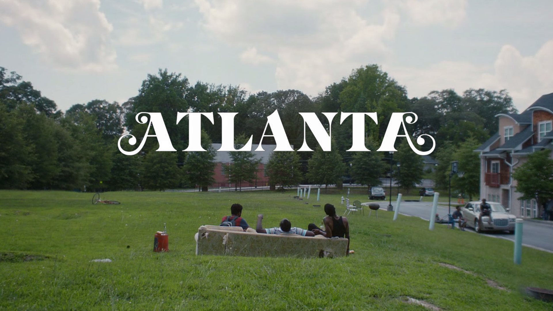 Atlanta TV Series Earnest Paper Boi and Darius chilling at 4 30