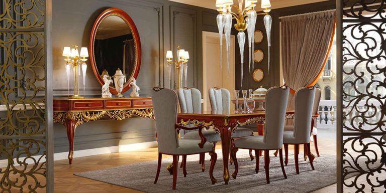 Arredamento per sala da pranzo classica n.21 | tavolo | Pinterest ...