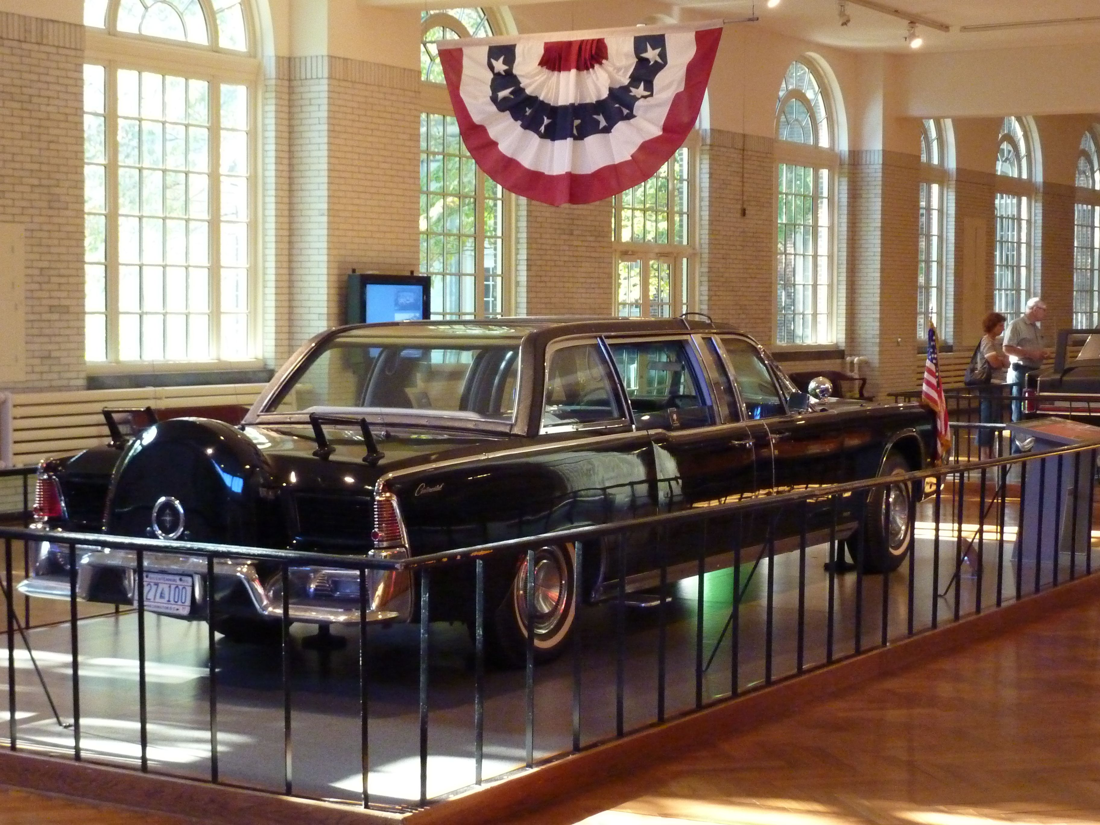 Kennedy s Presidential Limousine Dearborn Michigan is the limo in