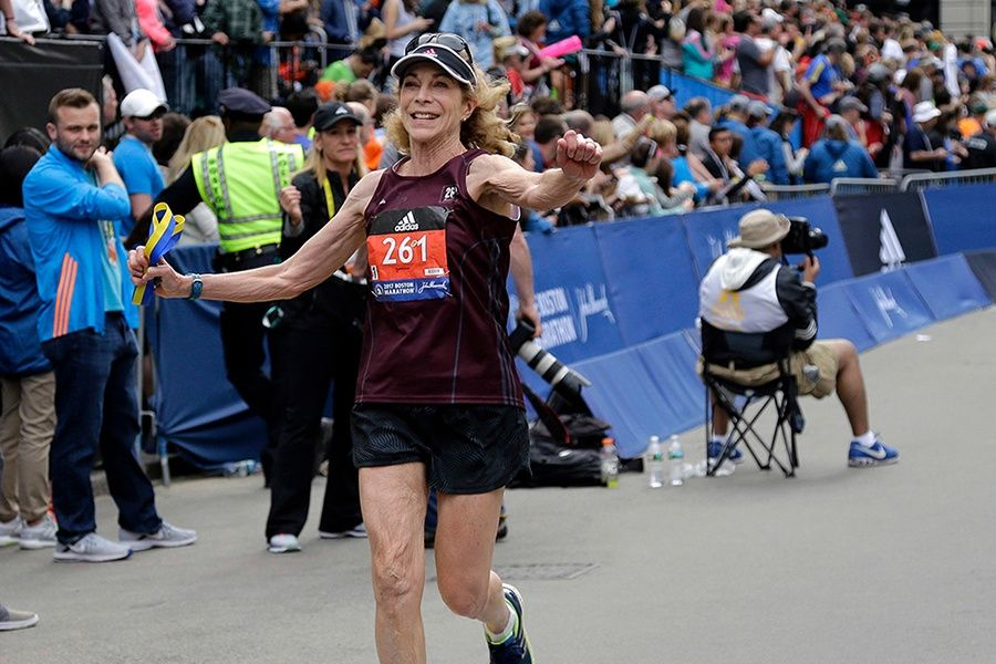 Hear from the First Woman to Officially Run the Boston