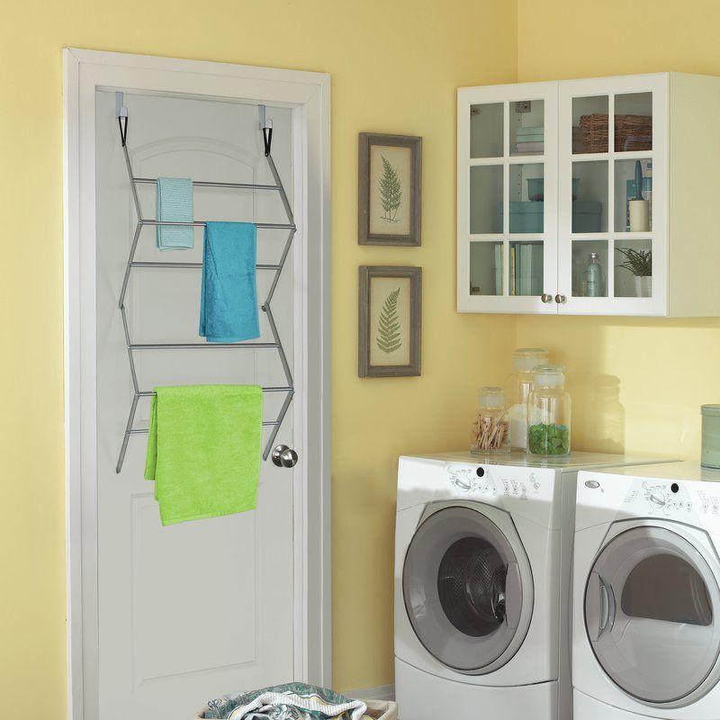 Homz Over The Door Drying Rack Storage Organization