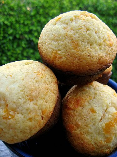 Jim 'N Nick's Cheese Biscuits - I can eat basket after basket of these things.