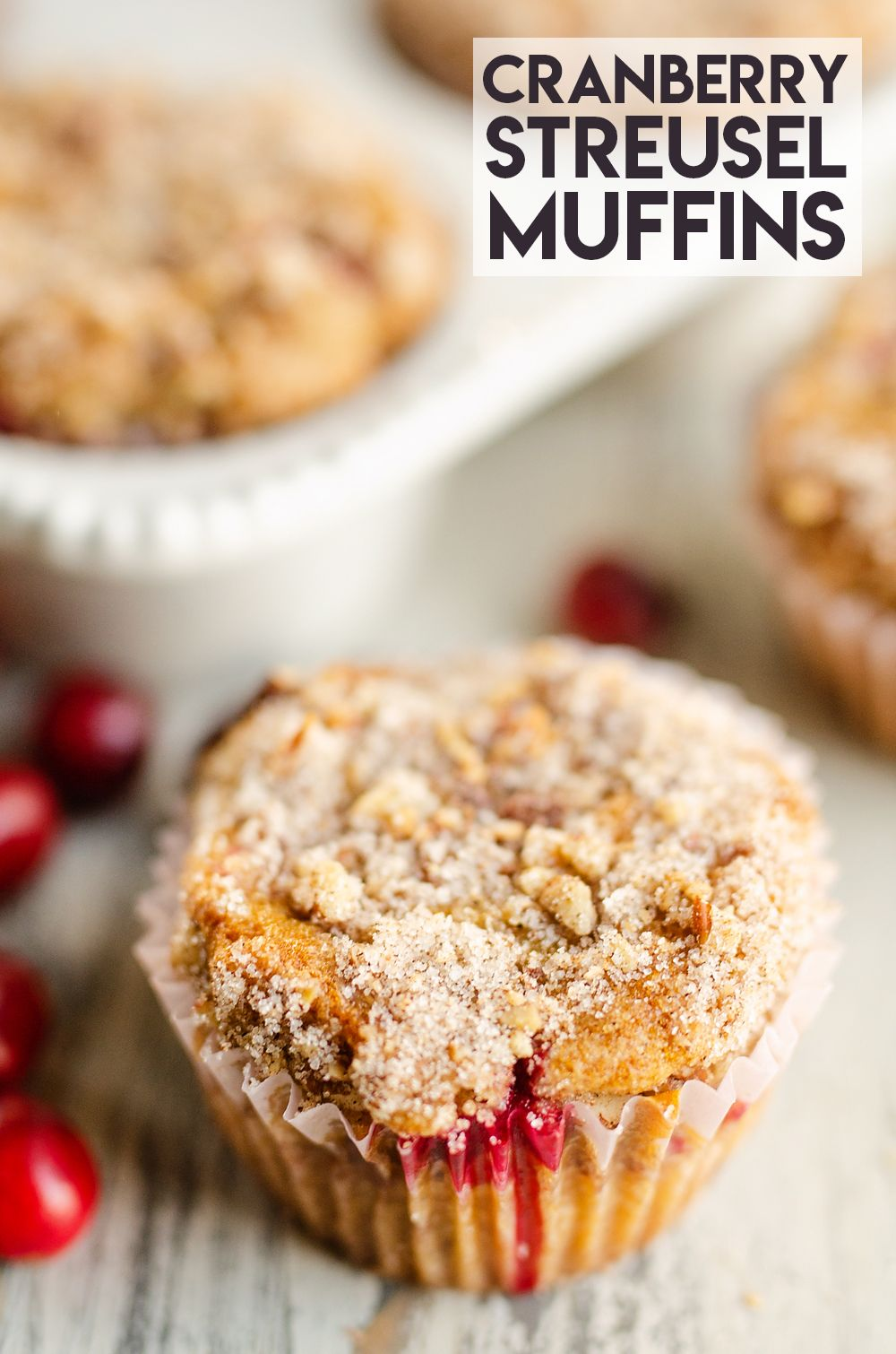 Cranberry Streusel Muffins Are Wonderful Breakfast Recipe With The Perfect Balance Of Flavors With Tartness Fr In 2020 Muffin Streusel Streusel Fresh Cranberry Recipes