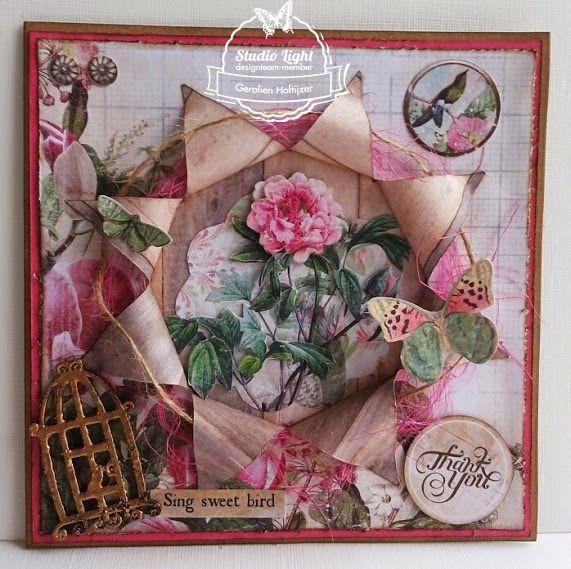 Puntkaart met My Botanic Garden gemaakt door Geralien Hoftijzer.