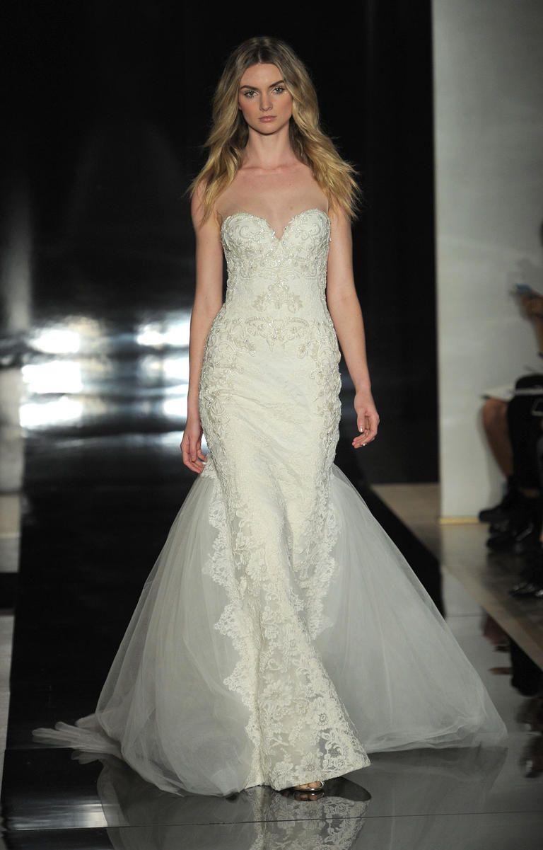 Reem Acra\'s Spring 2017 Wedding Dresses Are Light as Air   Reem acra ...