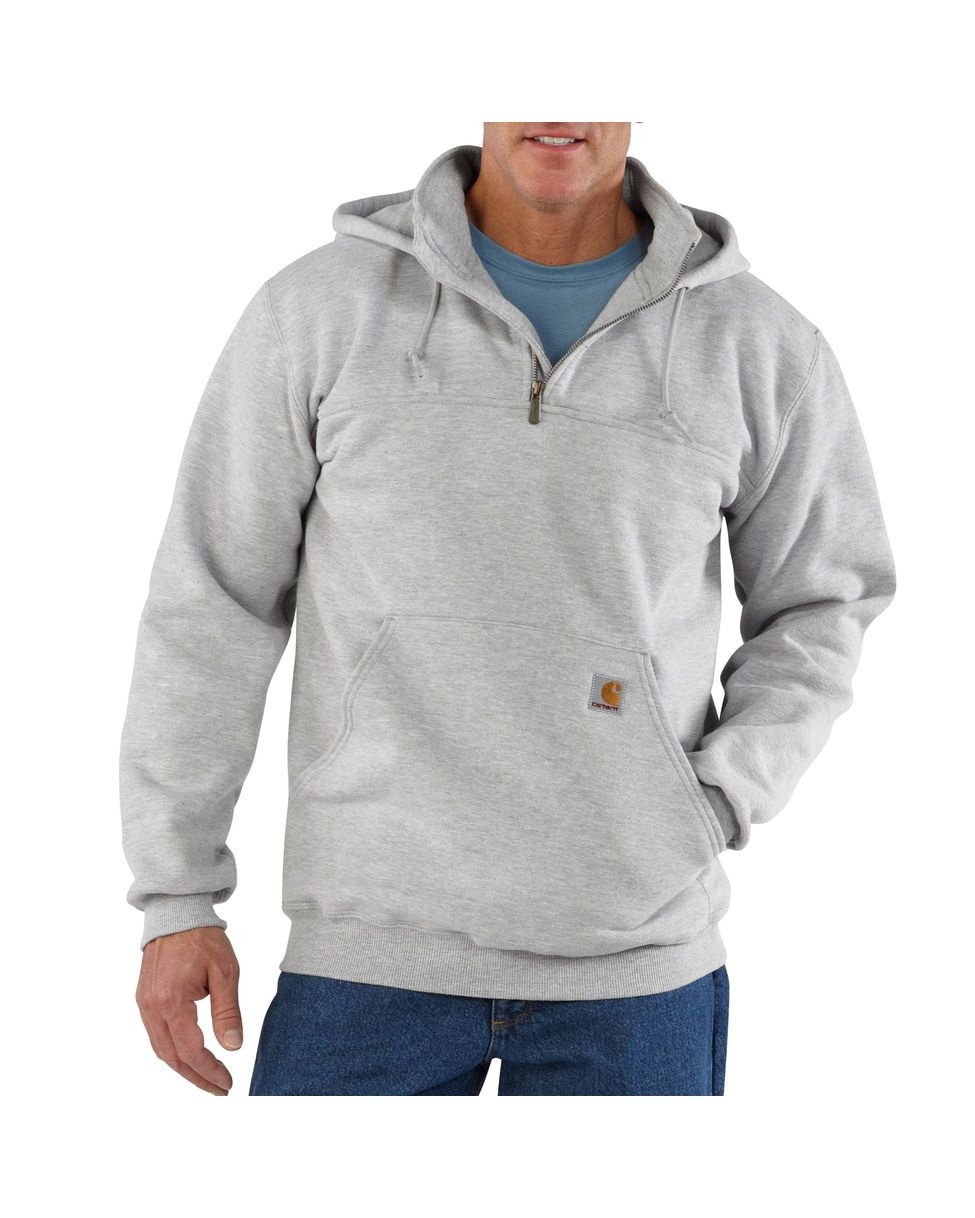 Carhartt Men's Heavyweight Hooded Zip-Mock Sweatshirt | Carhartt ...