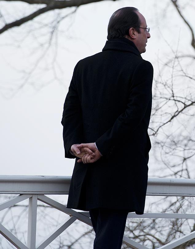O francês Hollande ,presidente da França
