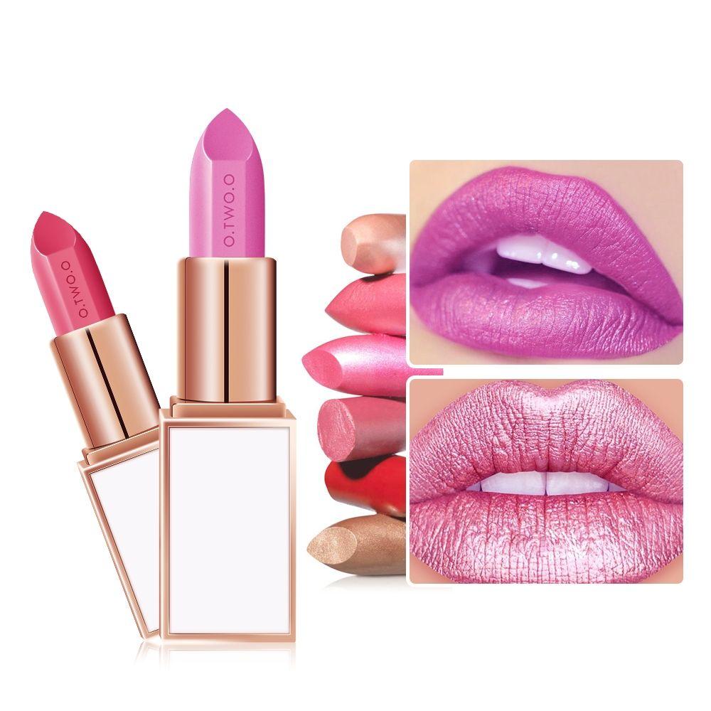 Hot 2 in 1 Matte Lipstick Wateproof Long Lasting Lipsticks