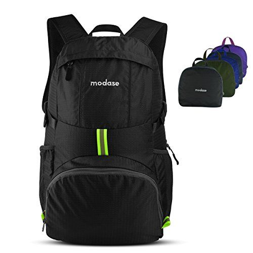 Packable Backpack Backpack Modase Large 35L Lightweight Travel Hiking  Backpack Daypack Water Resistant Foldable Backpack    Check out the image  by visiting ... 6e84fd425086c