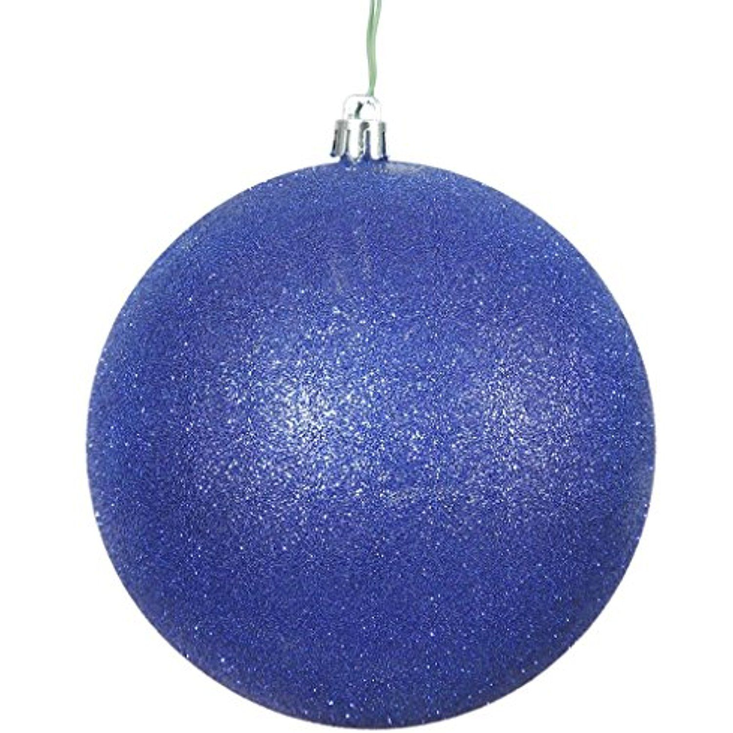 """Vickerman 457566 - 2.75"""" Cobalt Blue Glitter Ball Christmas Tree Ornament (12 pack) (N590722DG) ** Want additional info? Click on the image. (This is an affiliate link) #ChristmasBallOrnaments"""