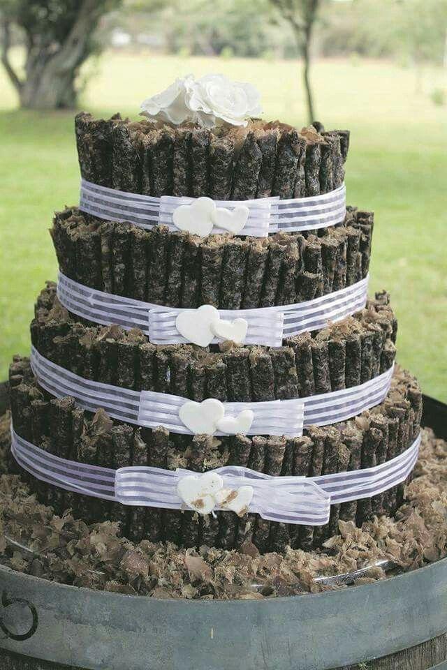 Biltong En Droe Wors Koek Cakes I Like Bush Wedding