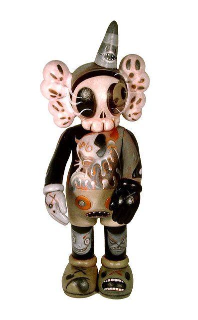 Fakirdesign Kaws Tattoo Art Toys Design Vinyl Art Toys Art Toy