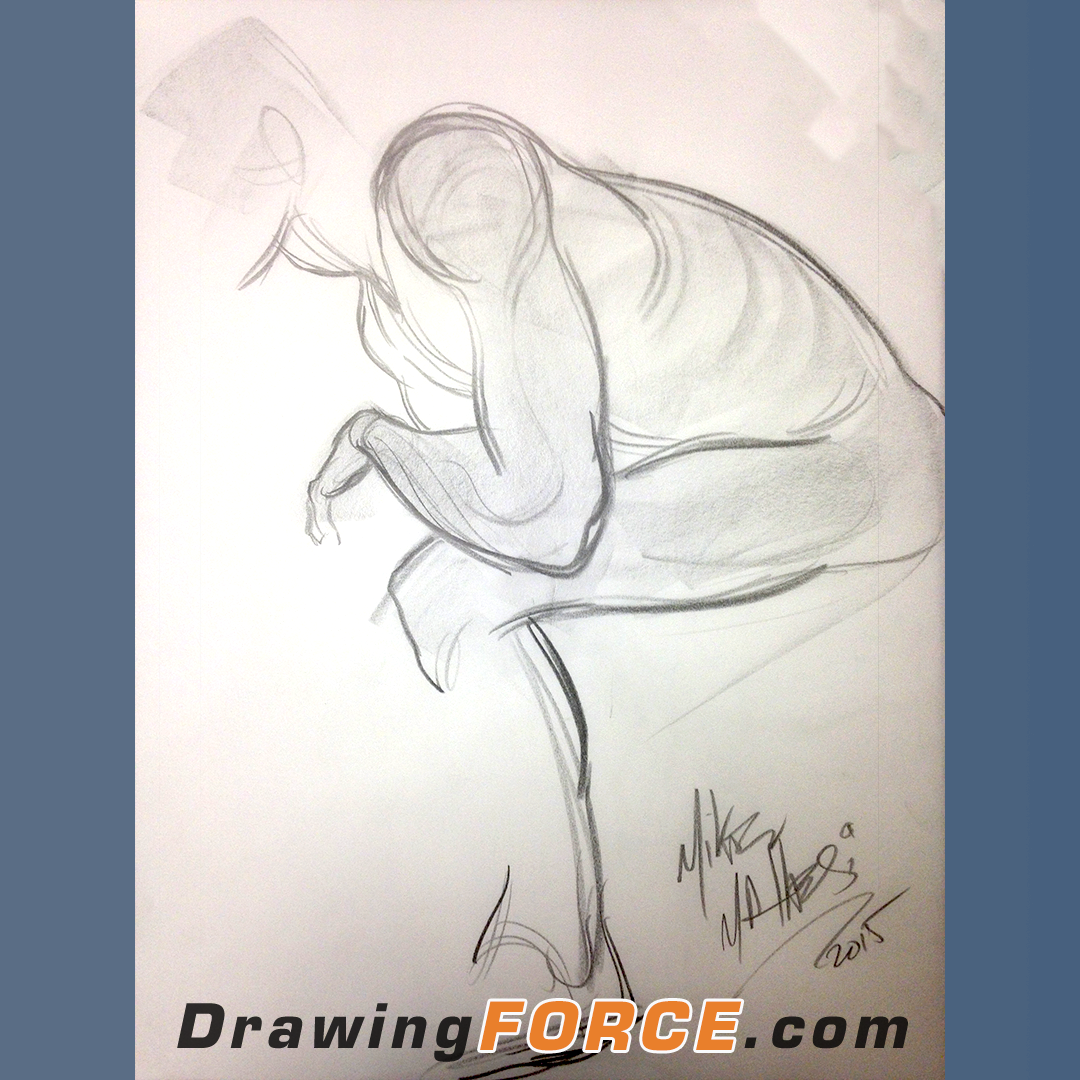 Online Drawing Classes And Art Mentorships With Mike Mattesi Force