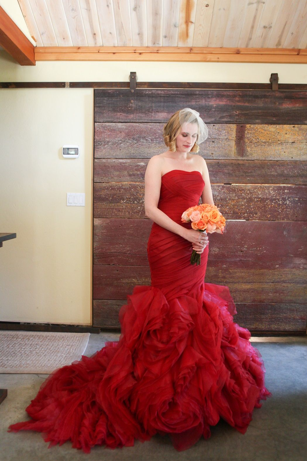 Red wedding dress do iwould iagain maybe pinterest