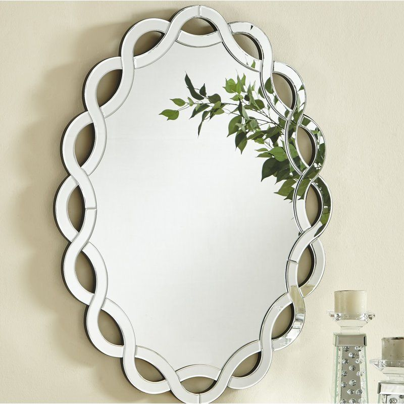 Wheless Contemporary Oval Accent Mirror