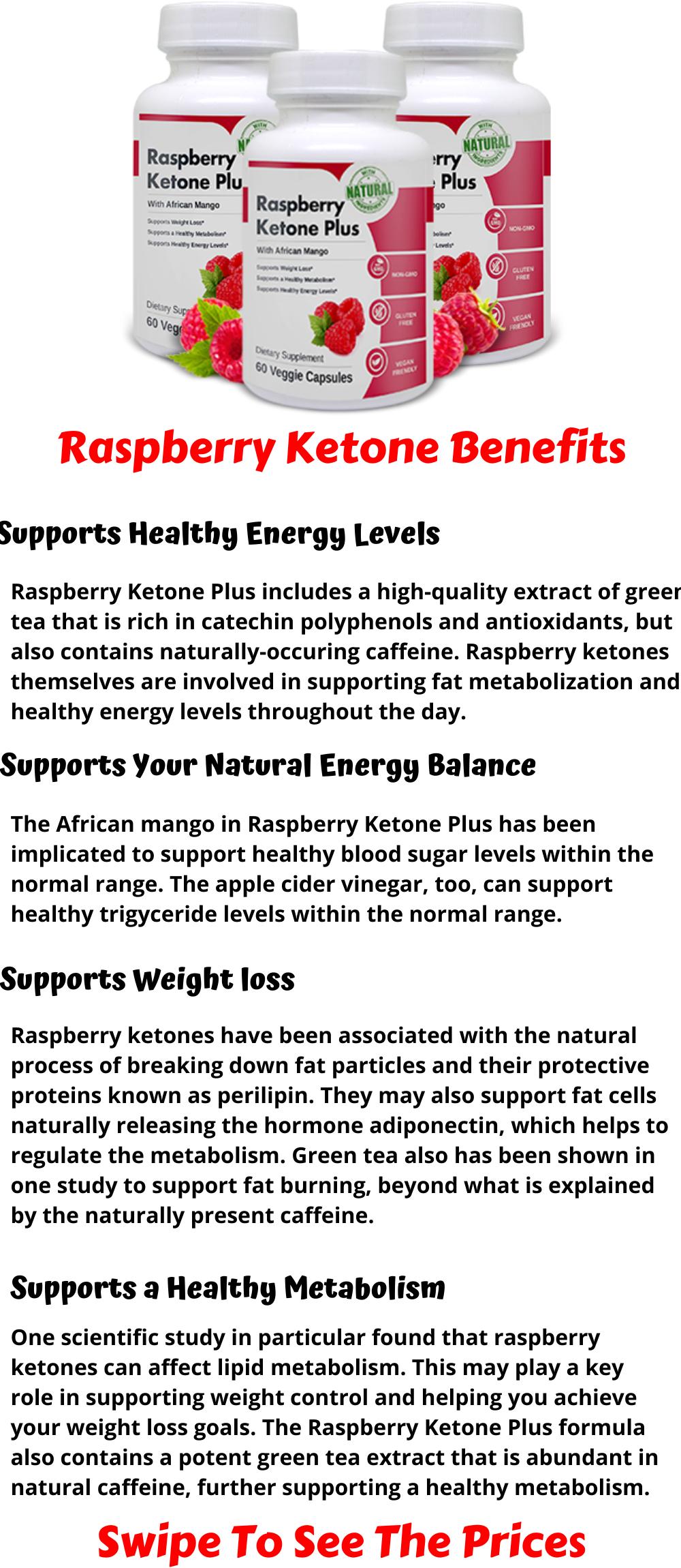 Raspberry Ketone Plus Pack Full Of Raspberry Ketones Raspberry